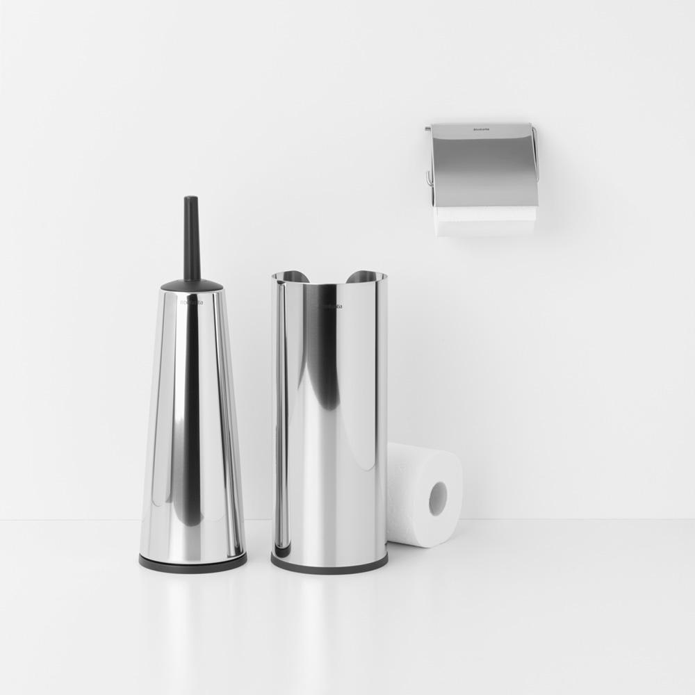 Аксесоари за тоалетна Brabantia Balance Collection, 3 части, Brilliant Steel(2)