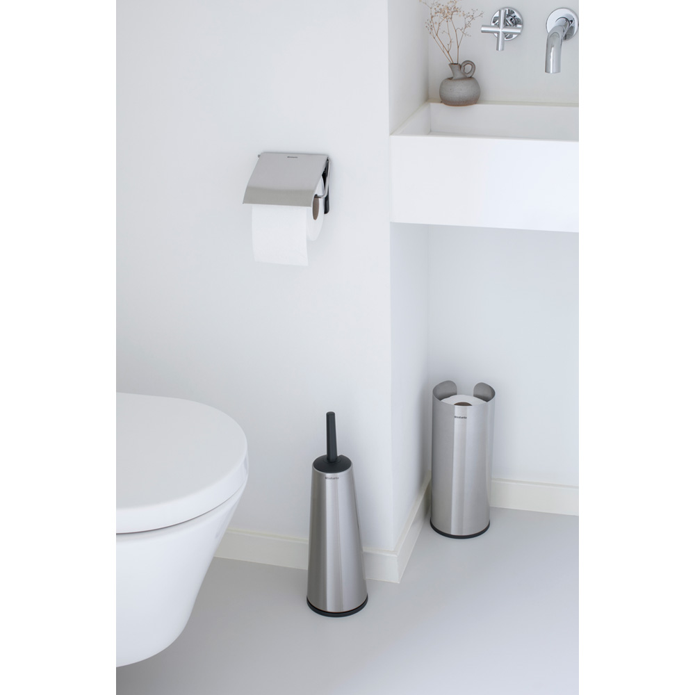 Аксесоари за тоалетна Brabantia Balance Collection, 3 части, Matt Steel(1)