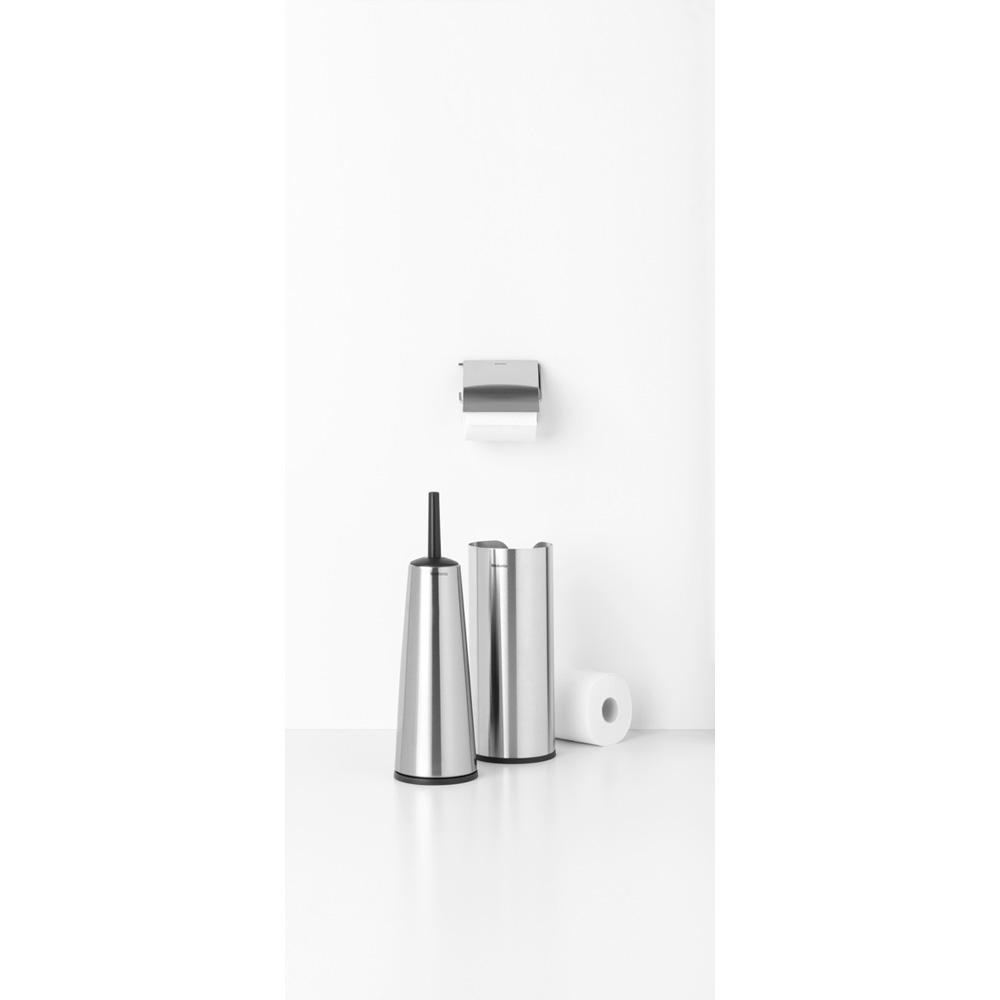 Аксесоари за тоалетна Brabantia Balance Collection, 3 части, Matt Steel(2)