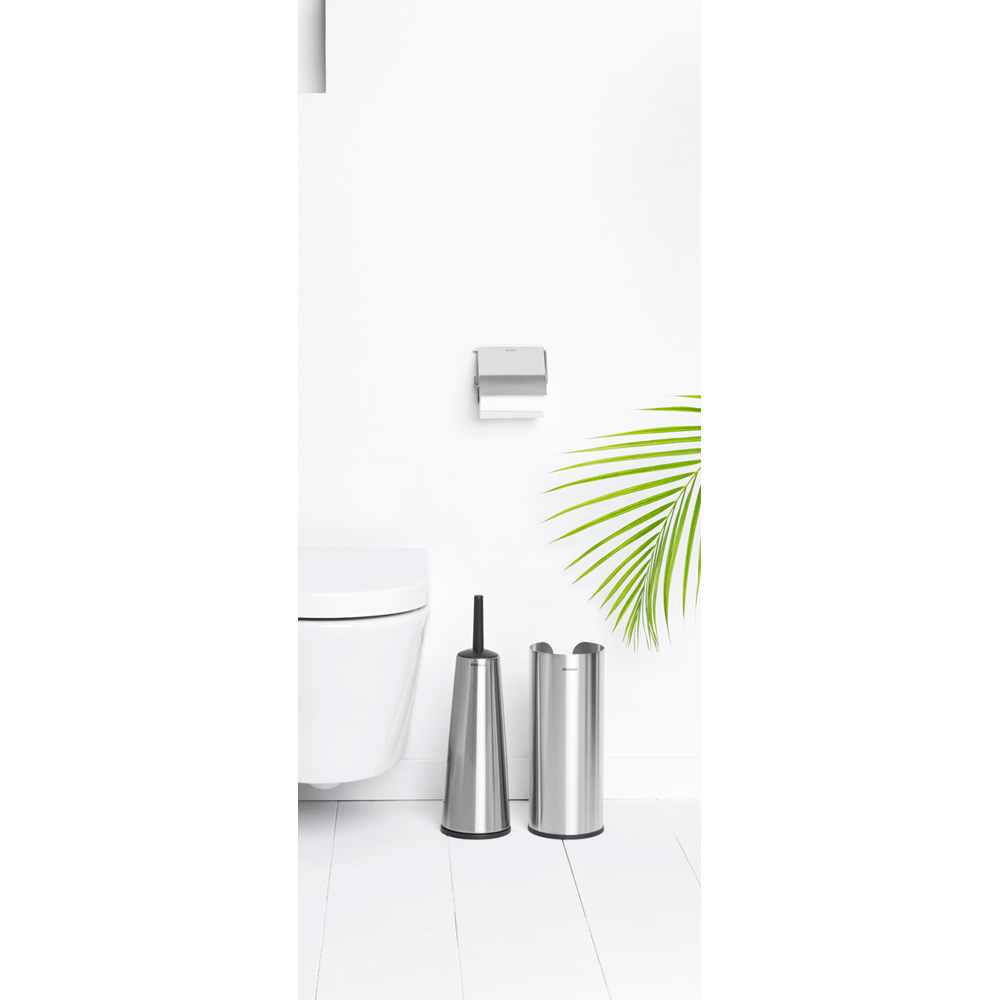 Аксесоари за тоалетна Brabantia Balance Collection, 3 части, Matt Steel(3)
