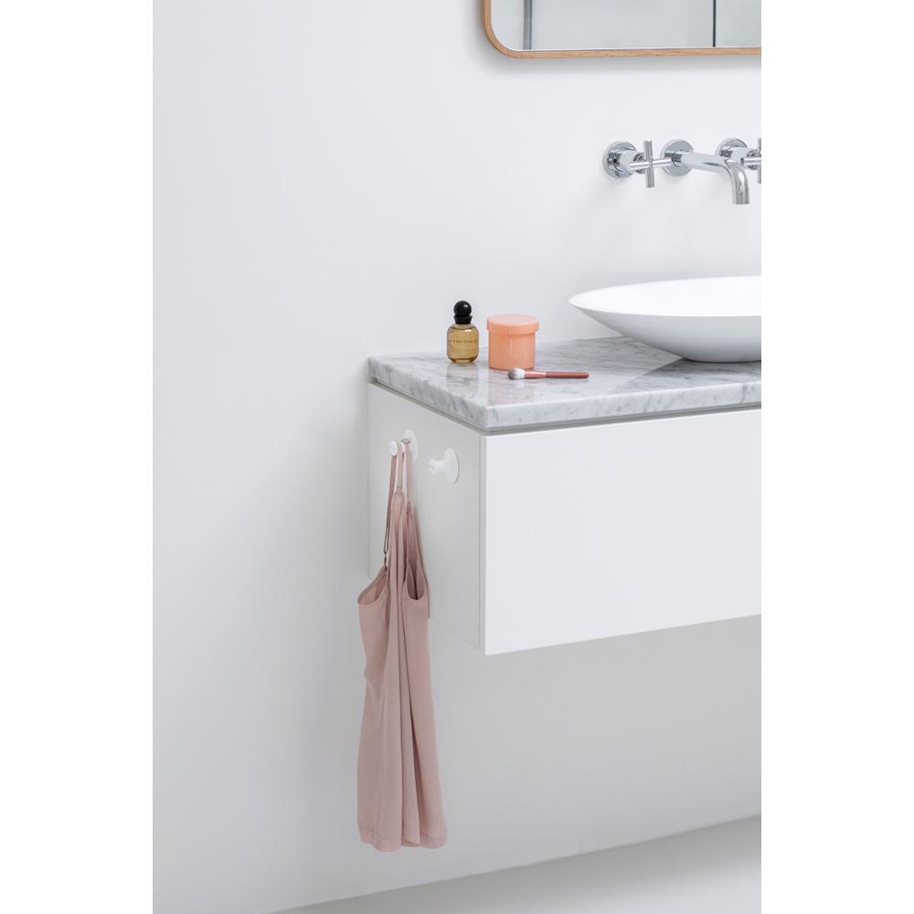Държач-закачалка за кърпа Brabantia, 2 броя, White(4)
