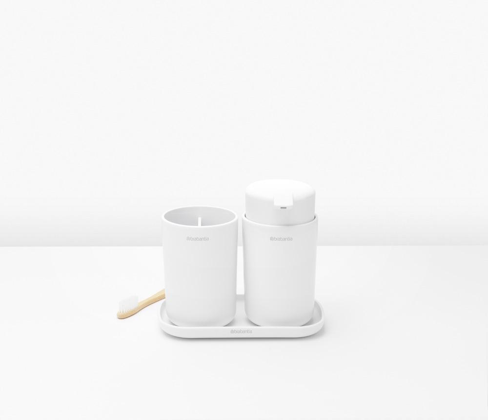 Аксесоари за баня Brabantia, 3 части, White(2)