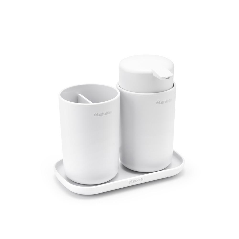 Аксесоари за баня Brabantia, 3 части, White(3)