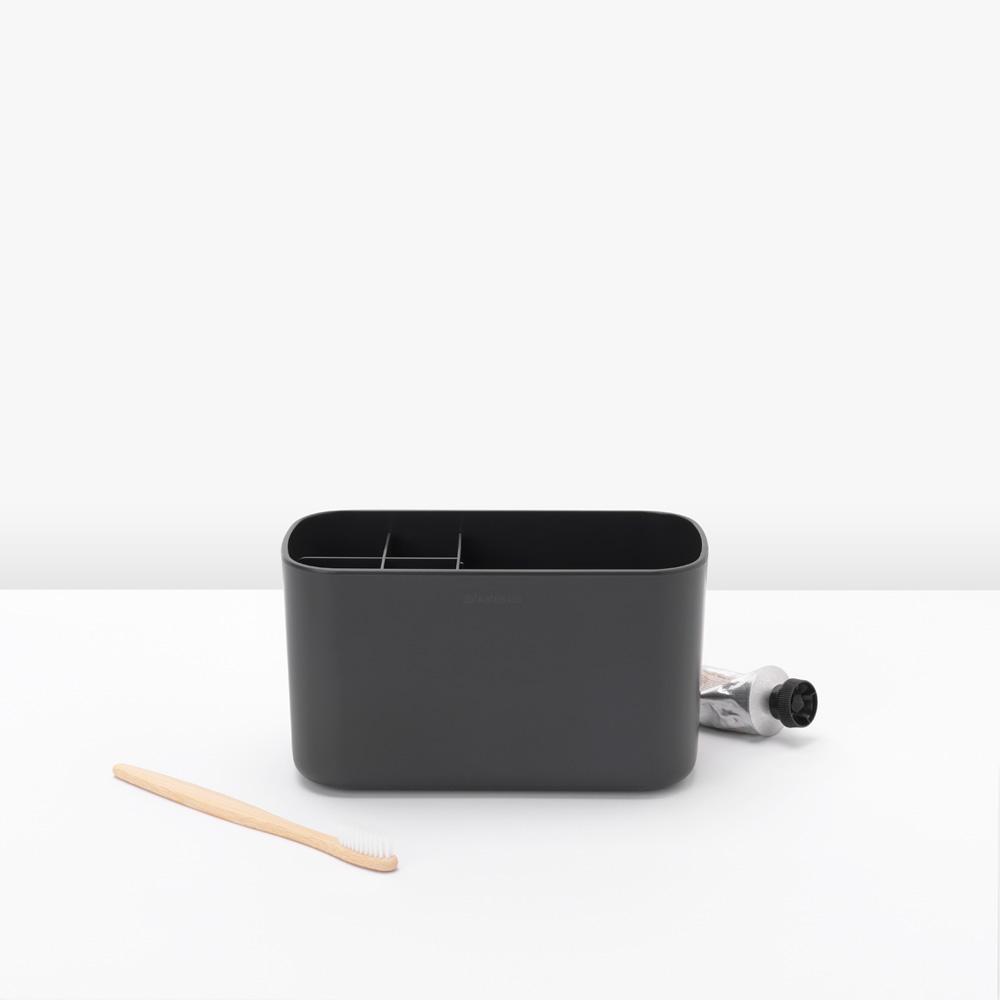 Кутия за аксесоари за баня Brabantia, Dark Grey(6)