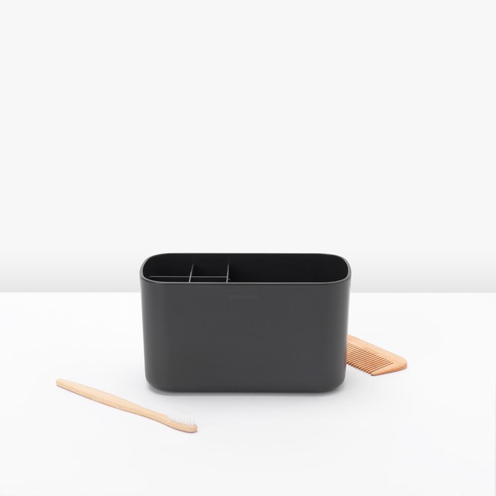Кутия за аксесоари за баня Brabantia, Dark Grey(7)