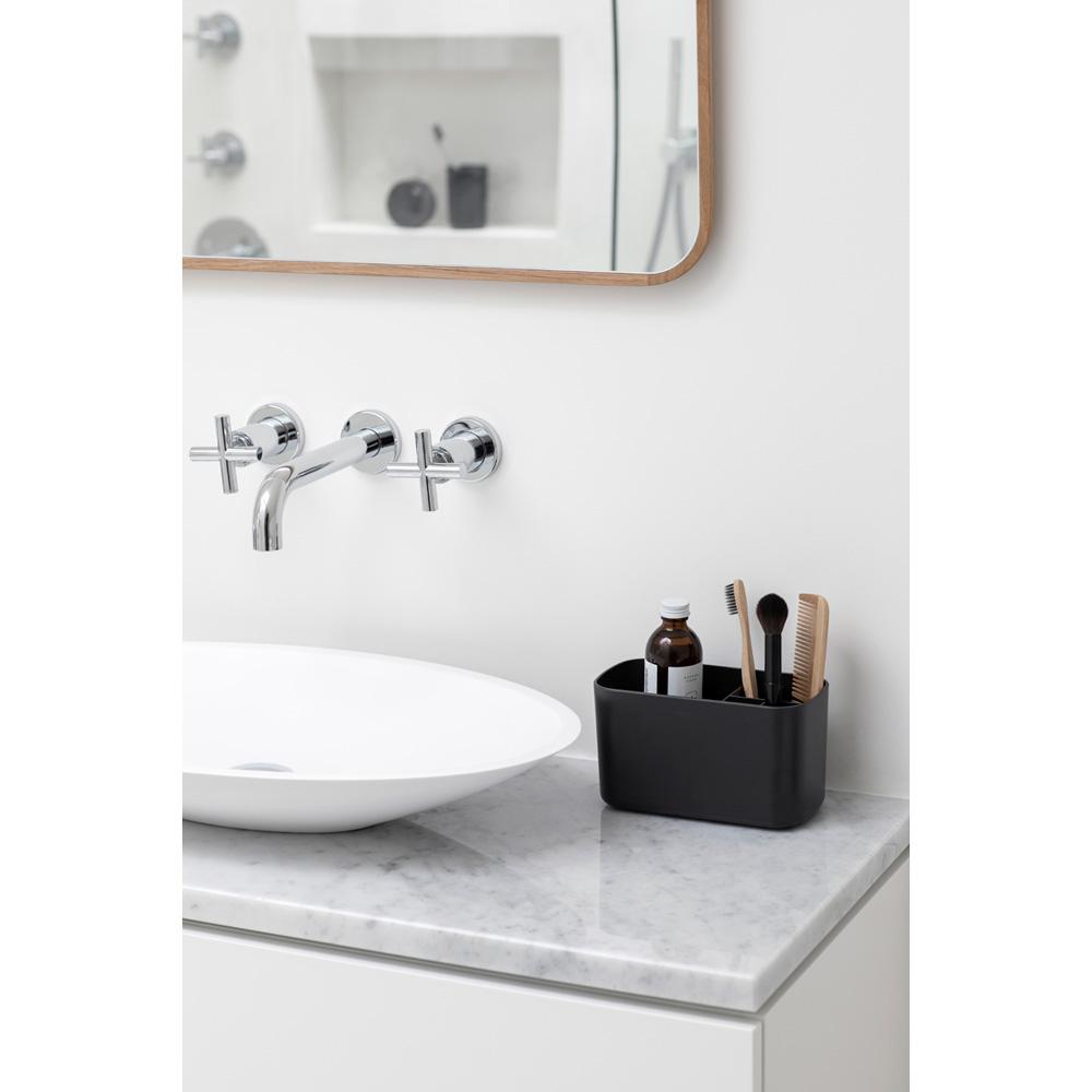 Кутия за аксесоари за баня Brabantia, Dark Grey(8)