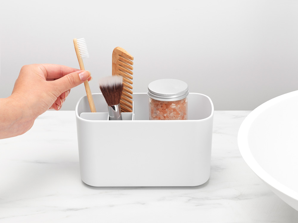 Кутия за аксесоари за баня Brabantia, White(8)