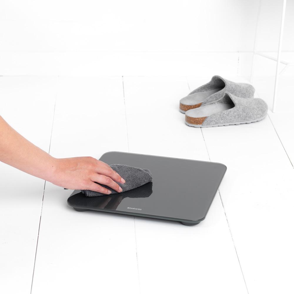 Дигитална везна за баня Brabantia, Dark Grey(6)