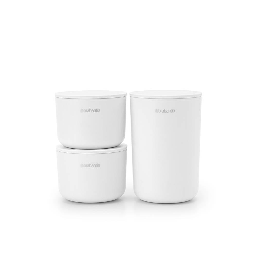 Комплект за съхранение на принадлежности Brabantia, White, 3 части