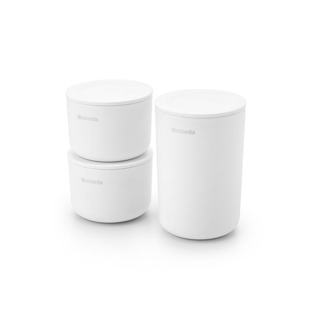 Комплект за съхранение на принадлежности Brabantia, White, 3 части(1)