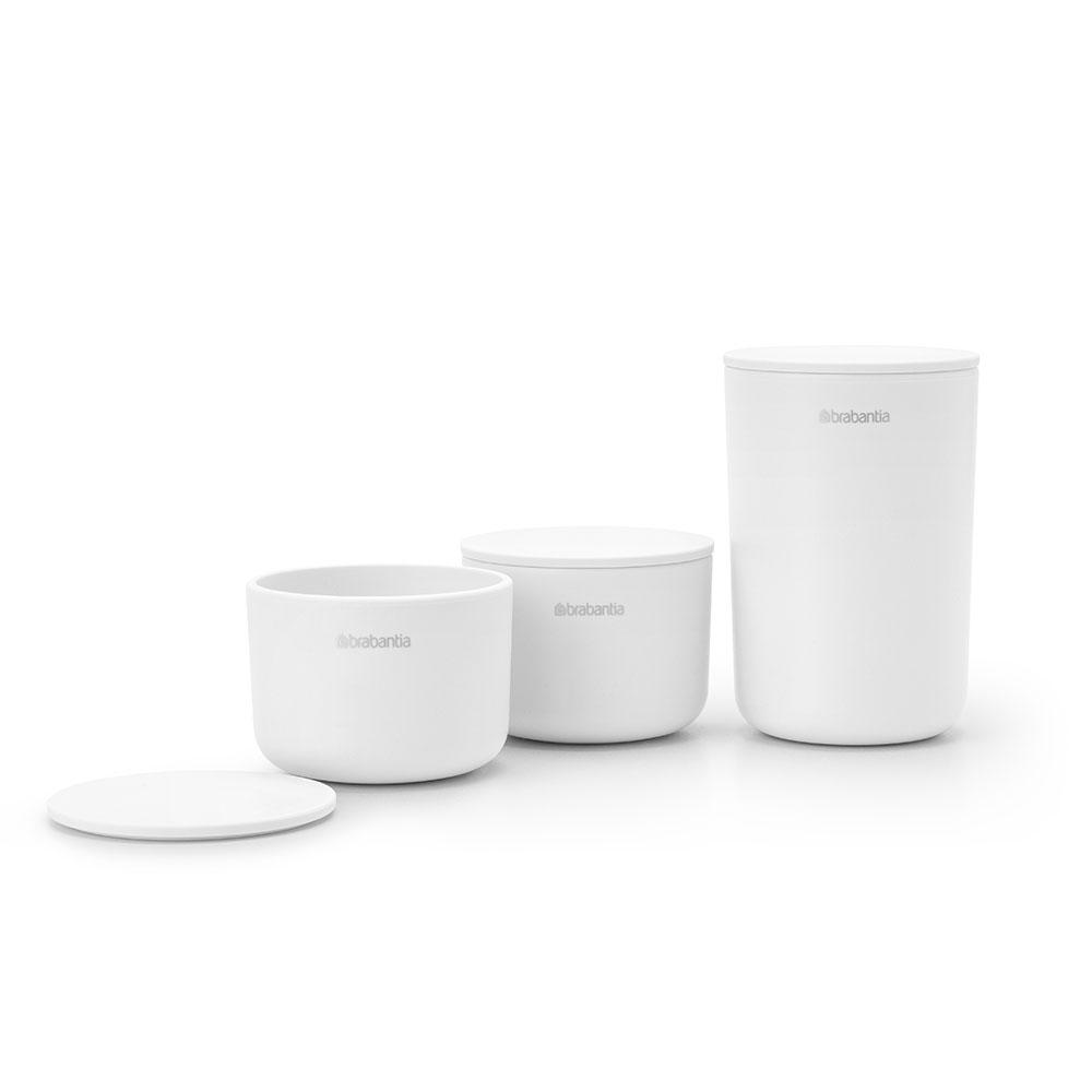 Комплект за съхранение на принадлежности Brabantia, White, 3 части(2)