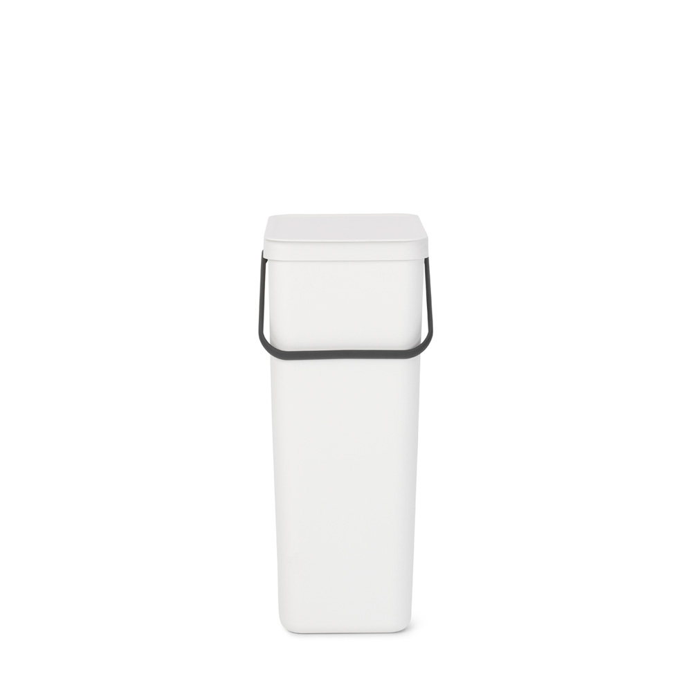 Кош за смет за разделно събиране Brabantia Sort&Go 40L, White(1)