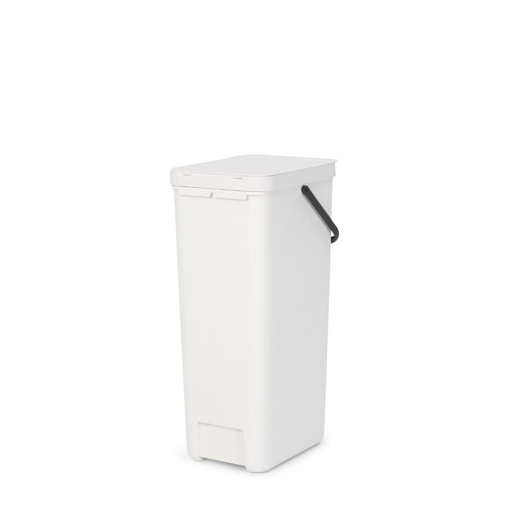 Кош за смет за разделно събиране Brabantia Sort&Go 40L, White(2)