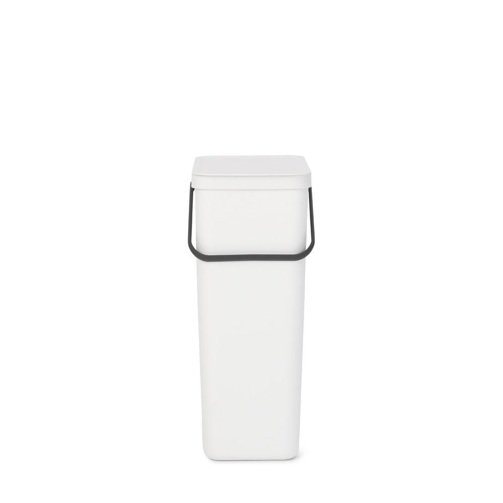 Кош за смет за разделно събиране Brabantia Sort&Go 40L, White(4)