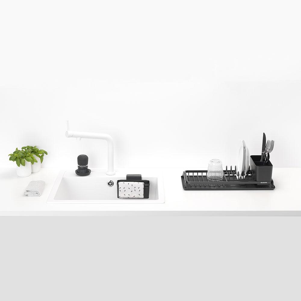 Комплект за миене и подсушаване на съдове, Grey, 4 части(2)