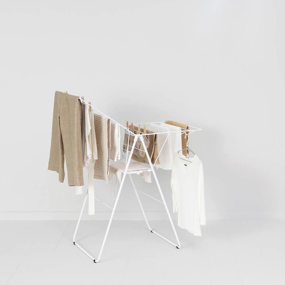 Сушилник за дрехи Brabantia Hangon, 15m, Fresh White(11)