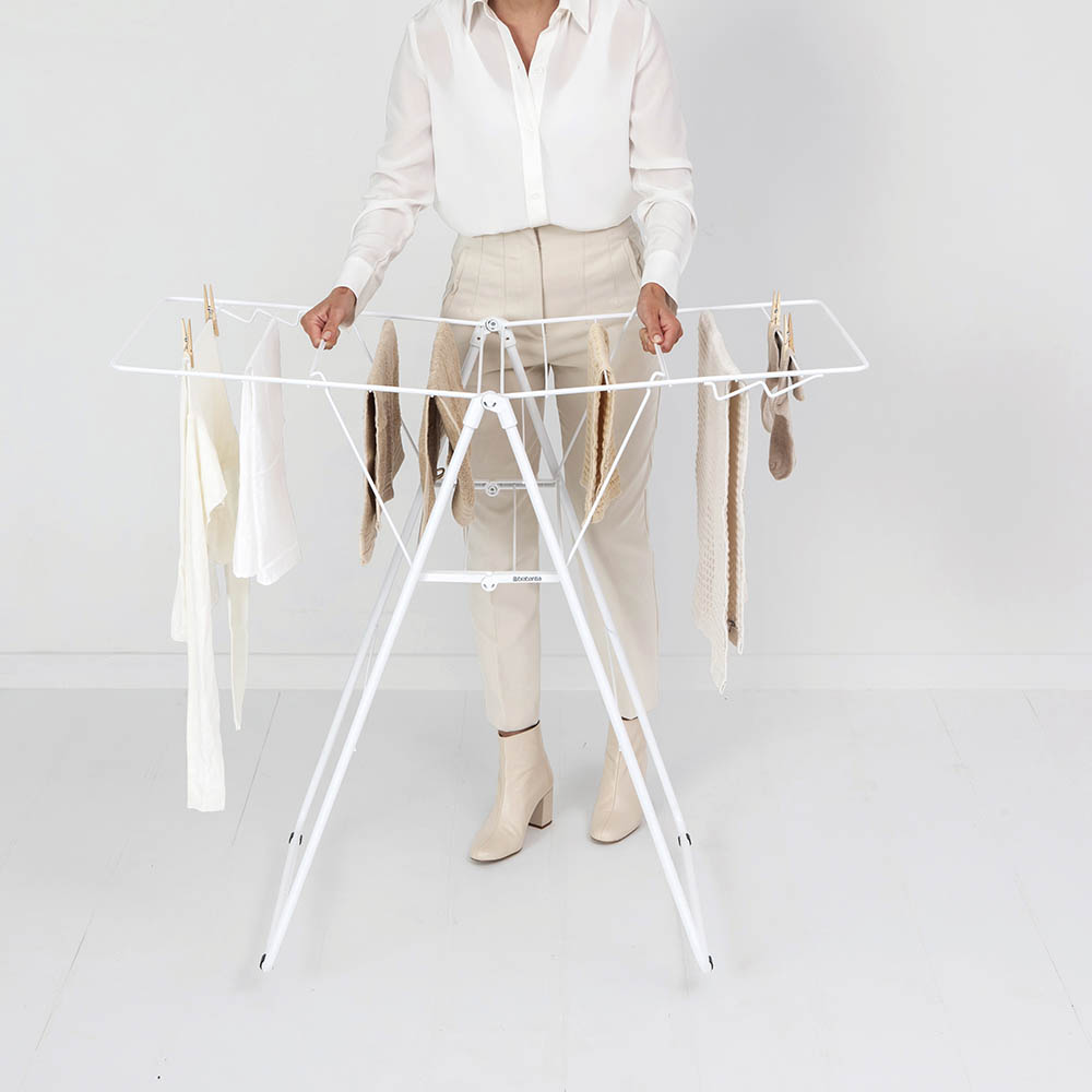 Сушилник за дрехи Brabantia Hangon, 15m, Fresh White(14)