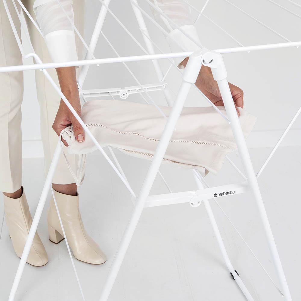 Сушилник за дрехи Brabantia Hangon, 15m, Fresh White(15)