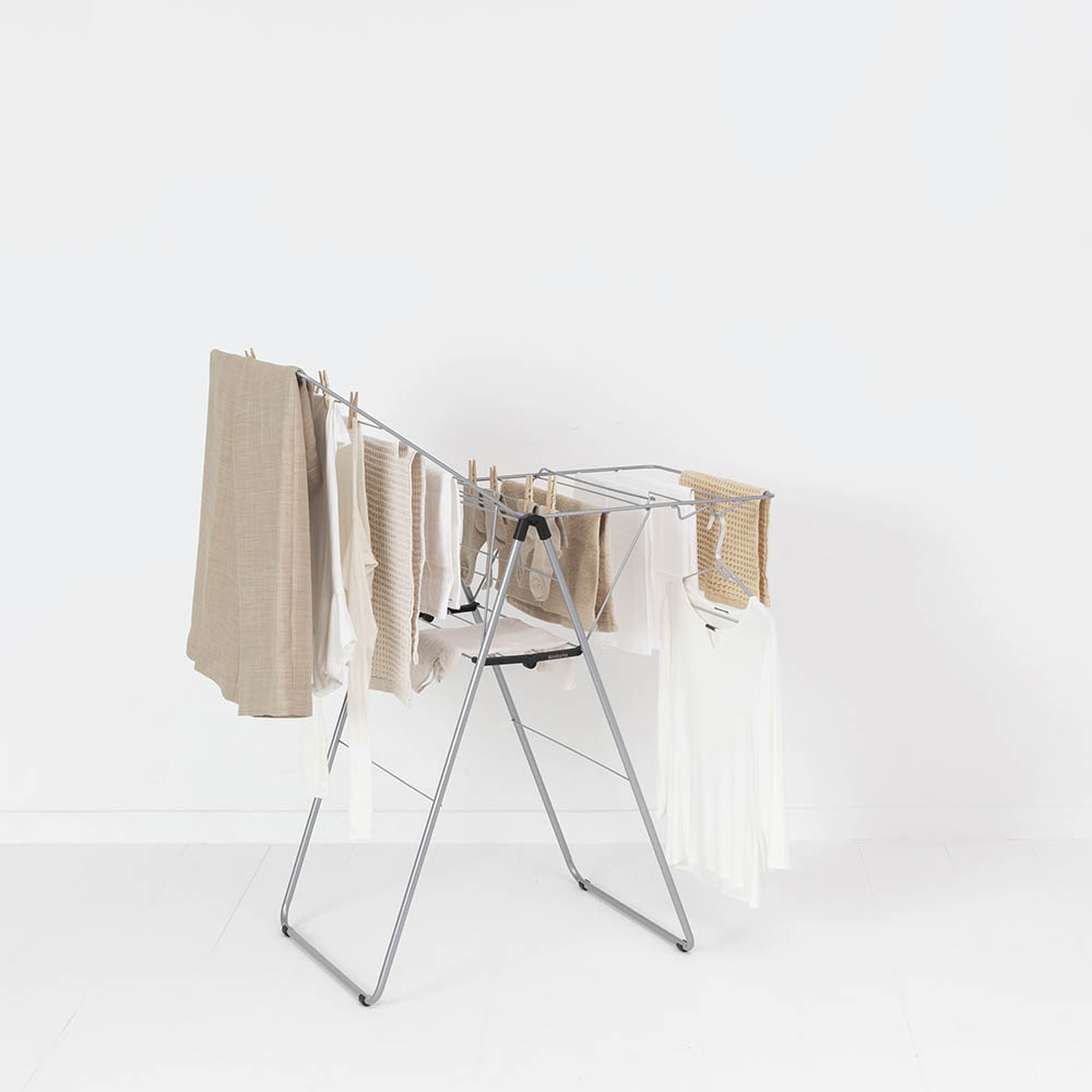 Сушилник за дрехи Brabantia Hangon, 15m, Metallic Grey(10)