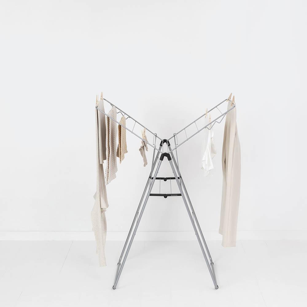 Сушилник за дрехи Brabantia Hangon, 15m, Metallic Grey(12)