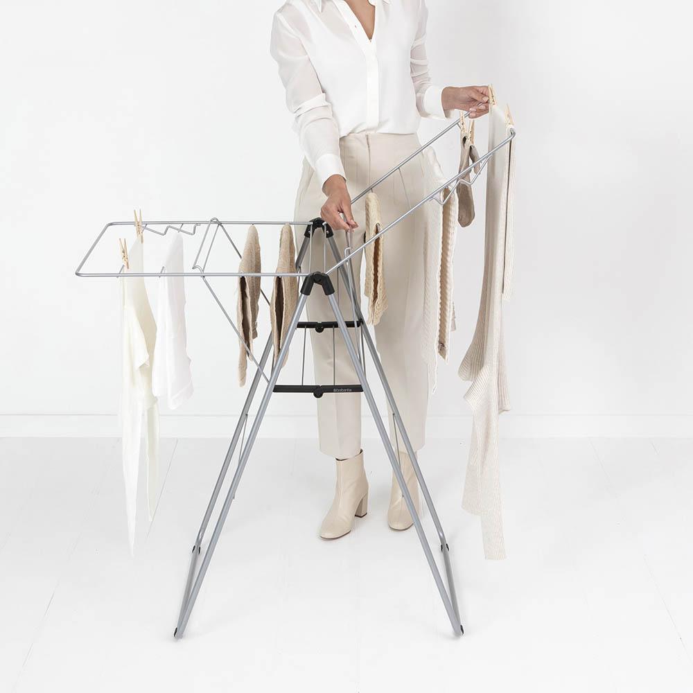 Сушилник за дрехи Brabantia Hangon, 15m, Metallic Grey(14)
