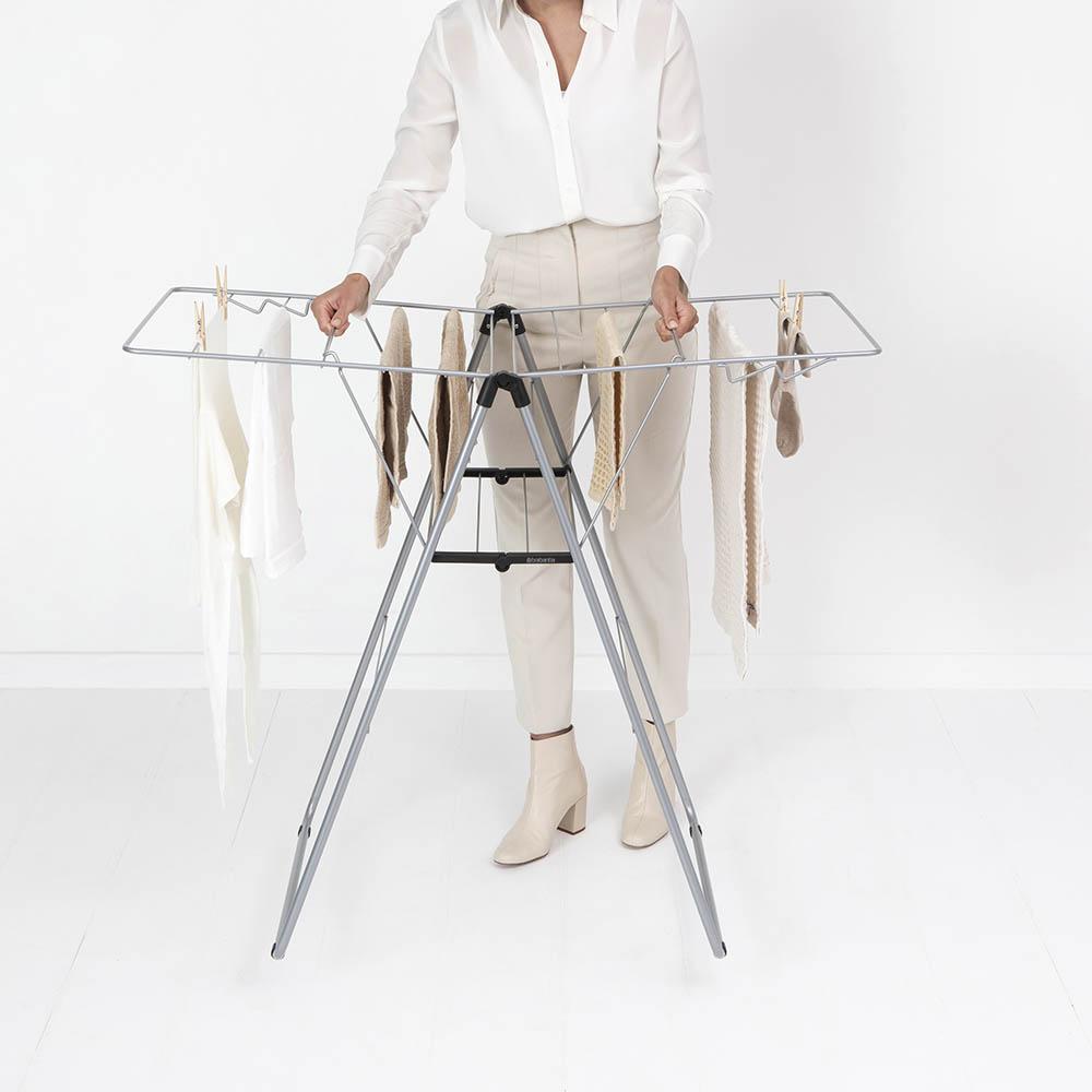 Сушилник за дрехи Brabantia Hangon, 15m, Metallic Grey(15)