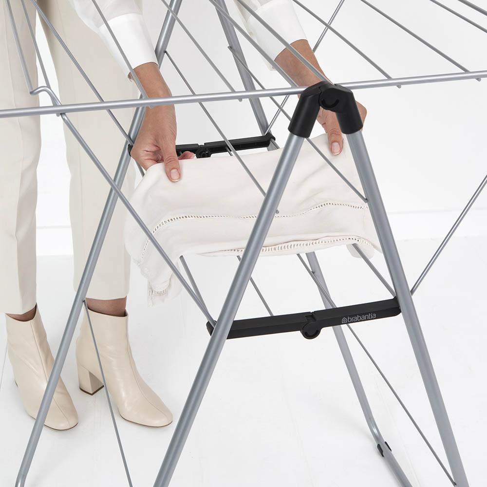 Сушилник за дрехи Brabantia Hangon, 15m, Metallic Grey(16)