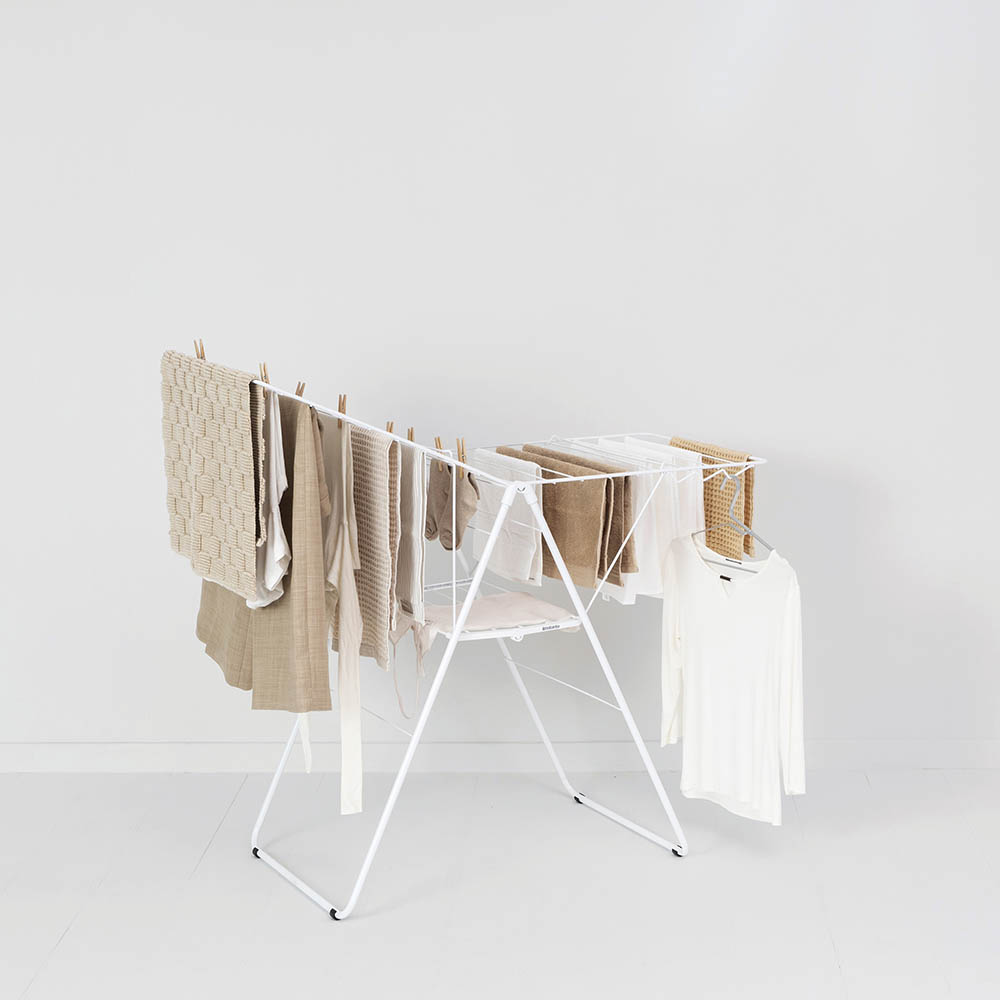 Сушилник за дрехи Brabantia Hangon, 20m, Fresh White(10)