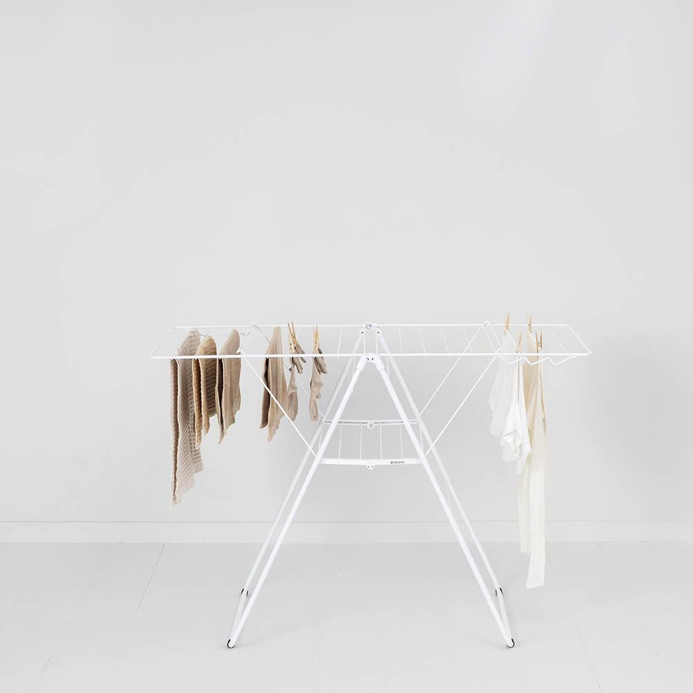 Сушилник за дрехи Brabantia Hangon, 20m, Fresh White(11)