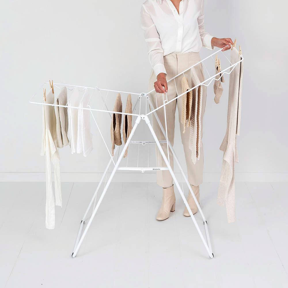 Сушилник за дрехи Brabantia Hangon, 20m, Fresh White(13)