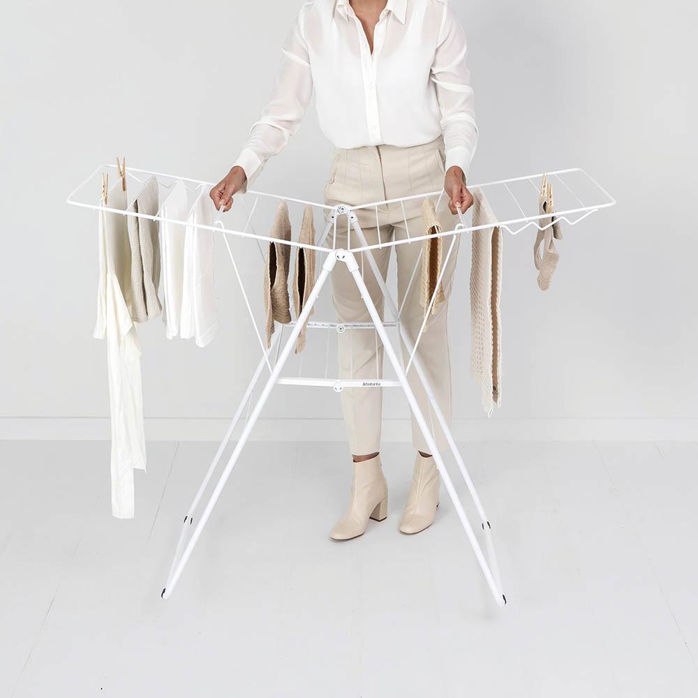 Сушилник за дрехи Brabantia Hangon, 20m, Fresh White(14)