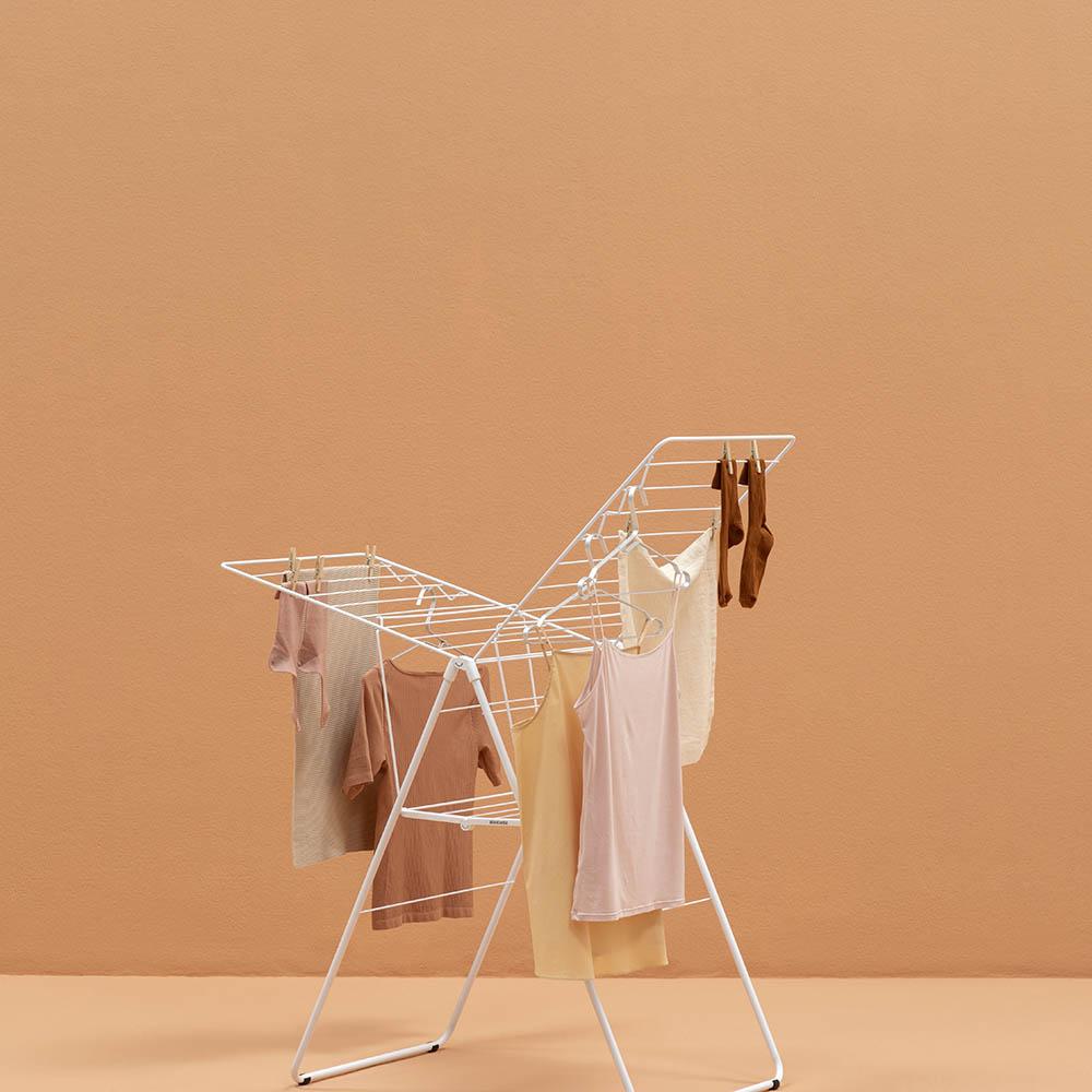 Сушилник за дрехи Brabantia Hangon, 20m, Fresh White(9)