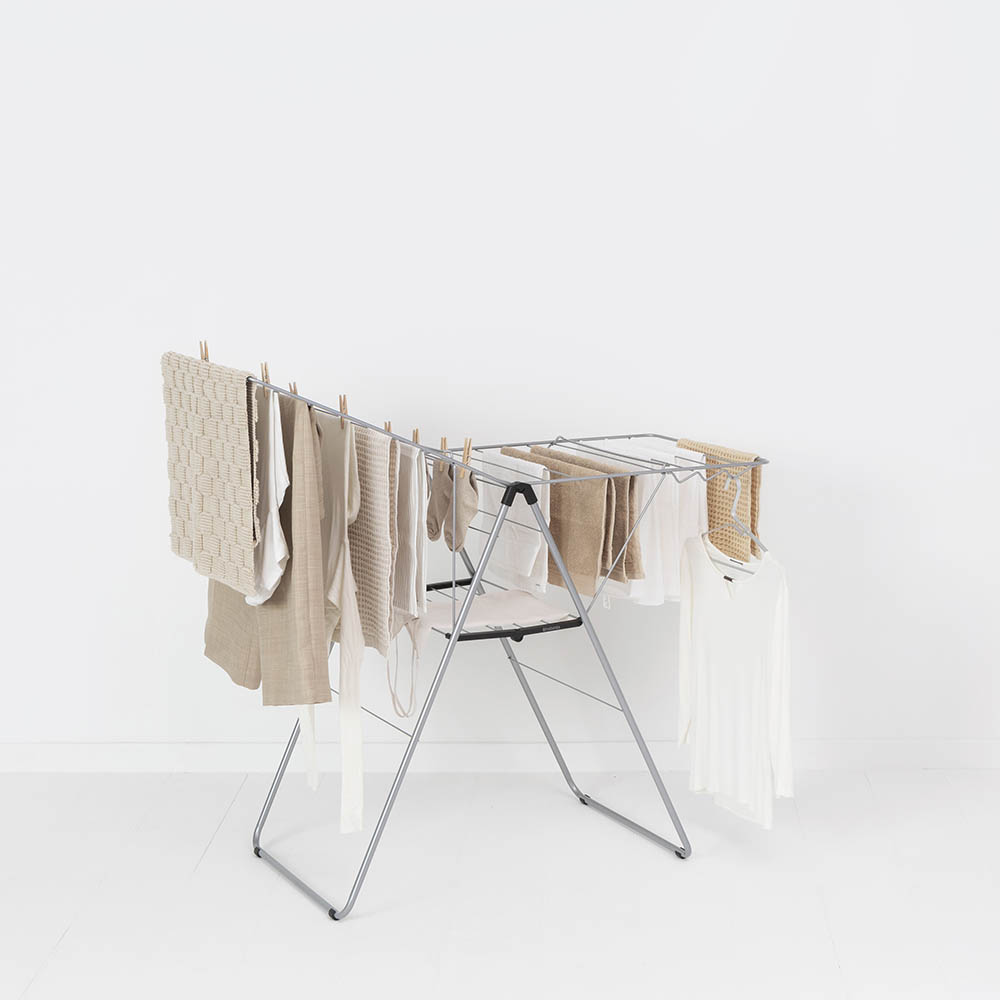 Сушилник за дрехи Brabantia Hangon, 20m, Metallic Grey(10)
