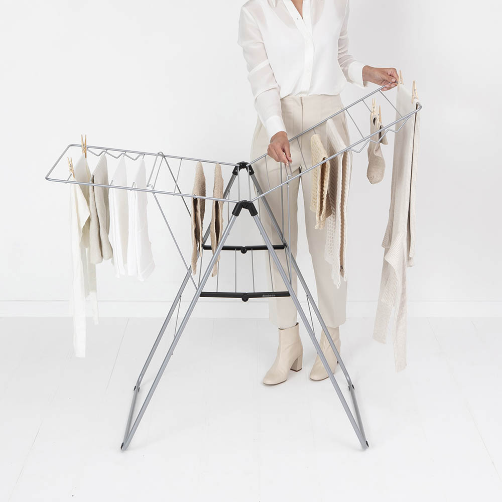 Сушилник за дрехи Brabantia Hangon, 20m, Metallic Grey(14)