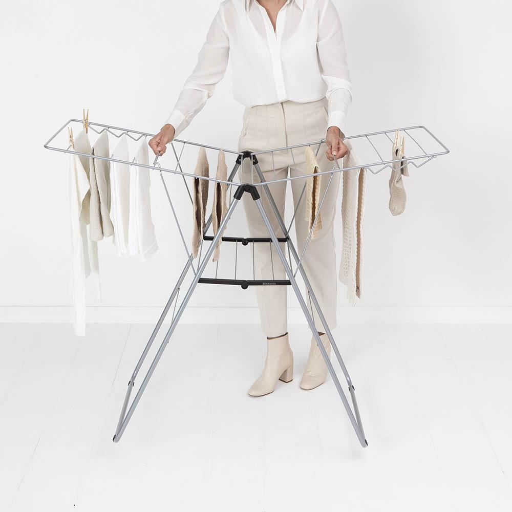 Сушилник за дрехи Brabantia Hangon, 20m, Metallic Grey(15)