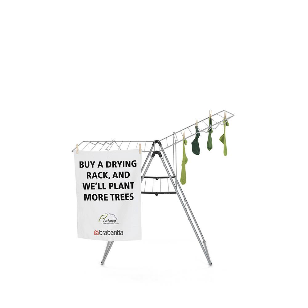 Сушилник за дрехи Brabantia Hangon, 20m, Metallic Grey(18)
