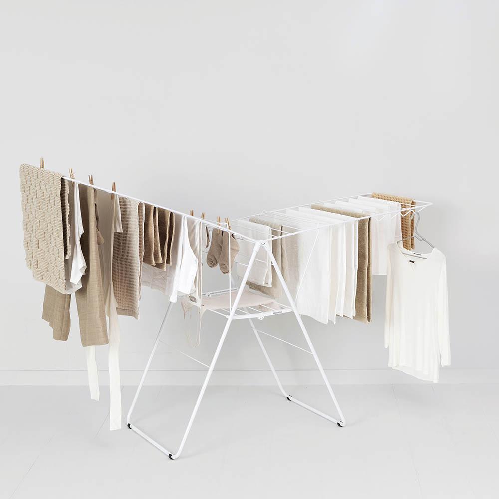 Сушилник за дрехи Brabantia Hangon, 25m, Fresh White(10)