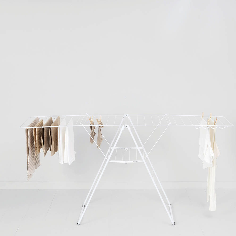 Сушилник за дрехи Brabantia Hangon, 25m, Fresh White(11)