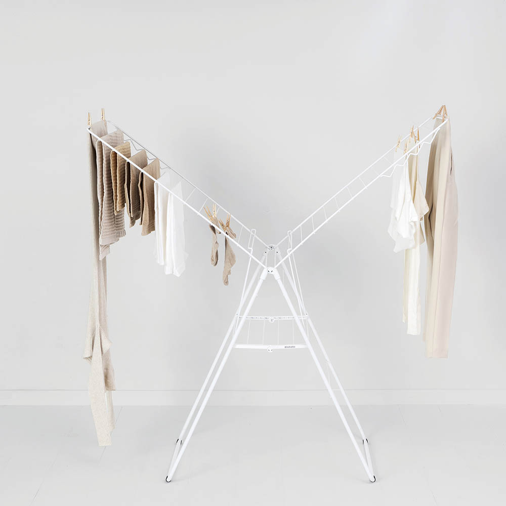Сушилник за дрехи Brabantia Hangon, 25m, Fresh White(12)