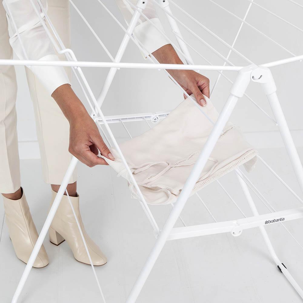 Сушилник за дрехи Brabantia Hangon, 25m, Fresh White(16)
