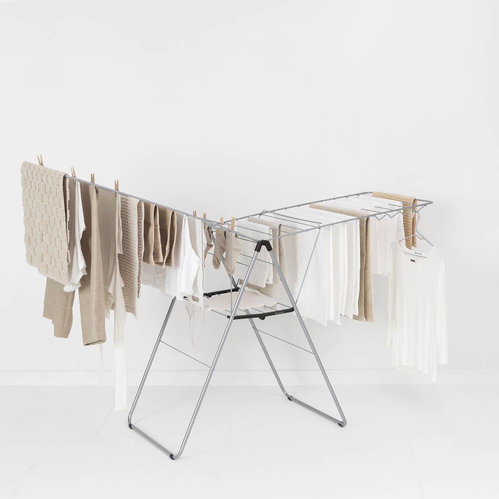 Сушилник за дрехи Brabantia Hangon, 25m, Metallic Grey(10)