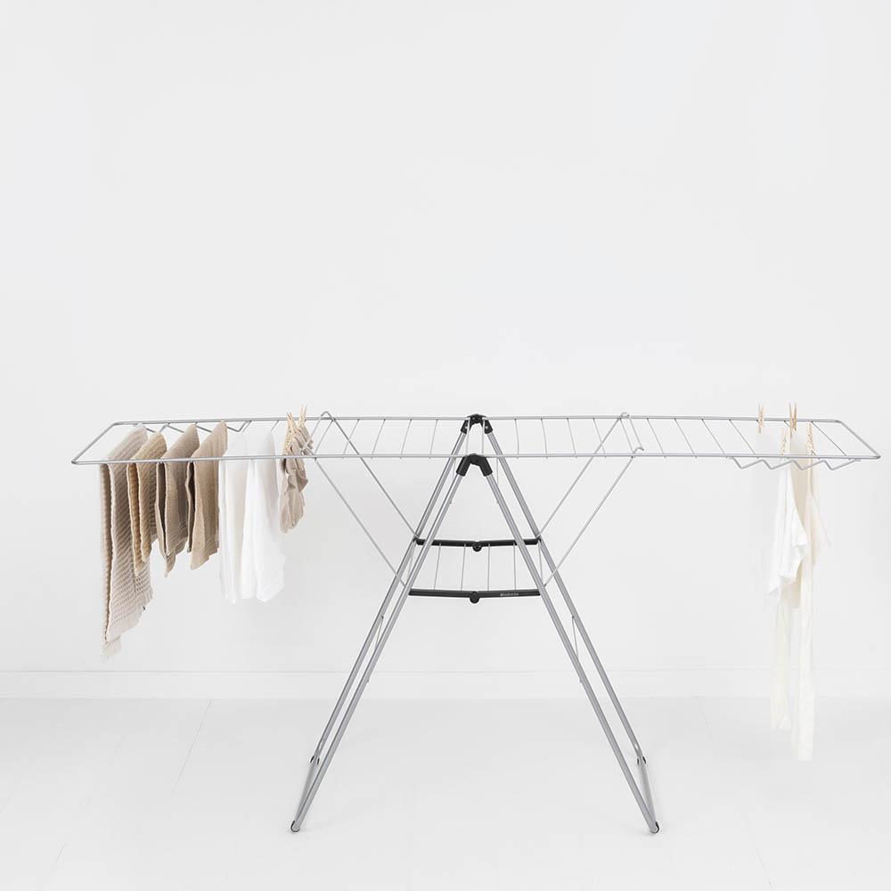 Сушилник за дрехи Brabantia Hangon, 25m, Metallic Grey(11)
