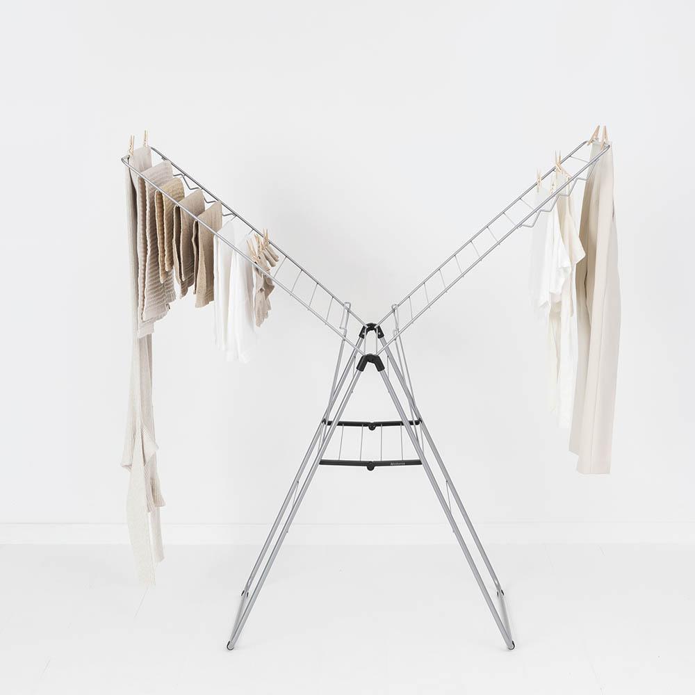 Сушилник за дрехи Brabantia Hangon, 25m, Metallic Grey(12)