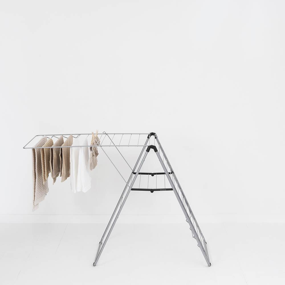 Сушилник за дрехи Brabantia Hangon, 25m, Metallic Grey(13)