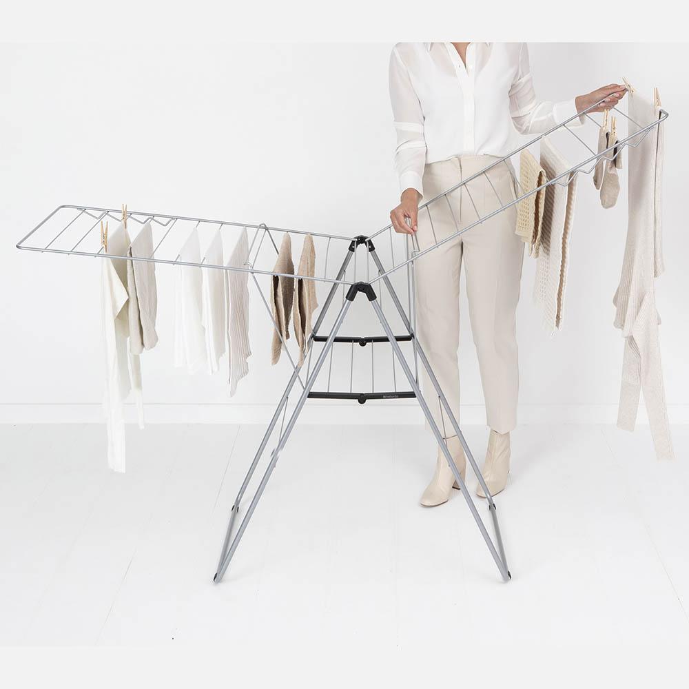 Сушилник за дрехи Brabantia Hangon, 25m, Metallic Grey(14)