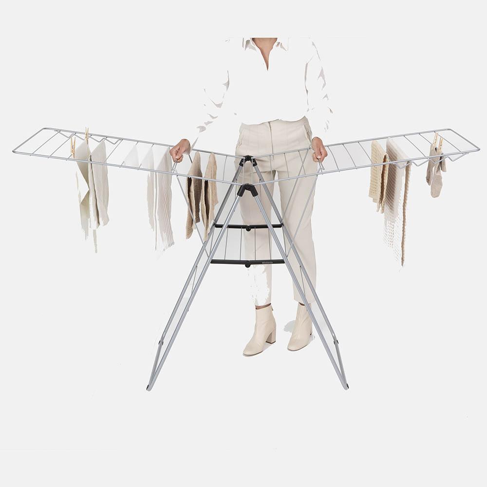 Сушилник за дрехи Brabantia Hangon, 25m, Metallic Grey(15)