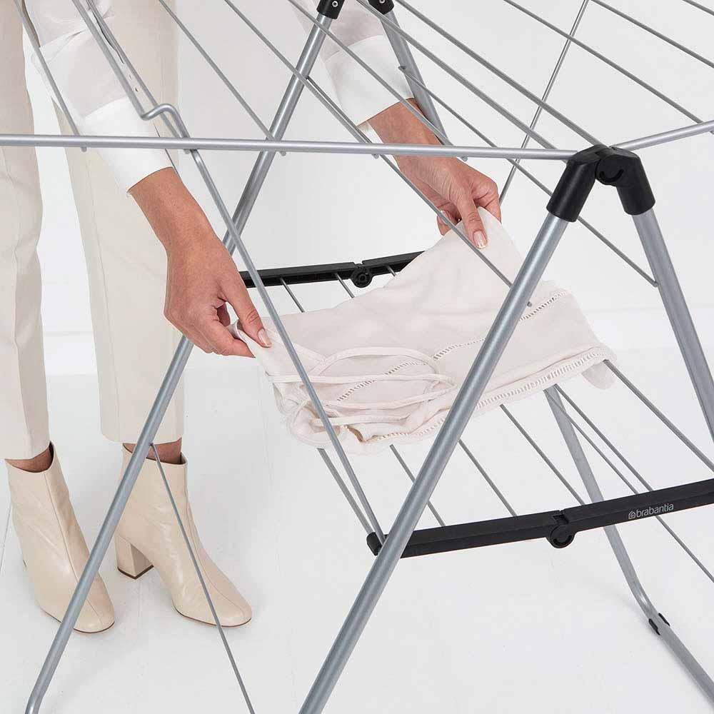 Сушилник за дрехи Brabantia Hangon, 25m, Metallic Grey(16)
