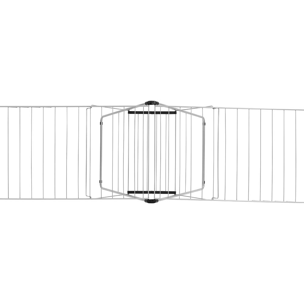 Сушилник за дрехи Brabantia Hangon, 25m, Metallic Grey(9)