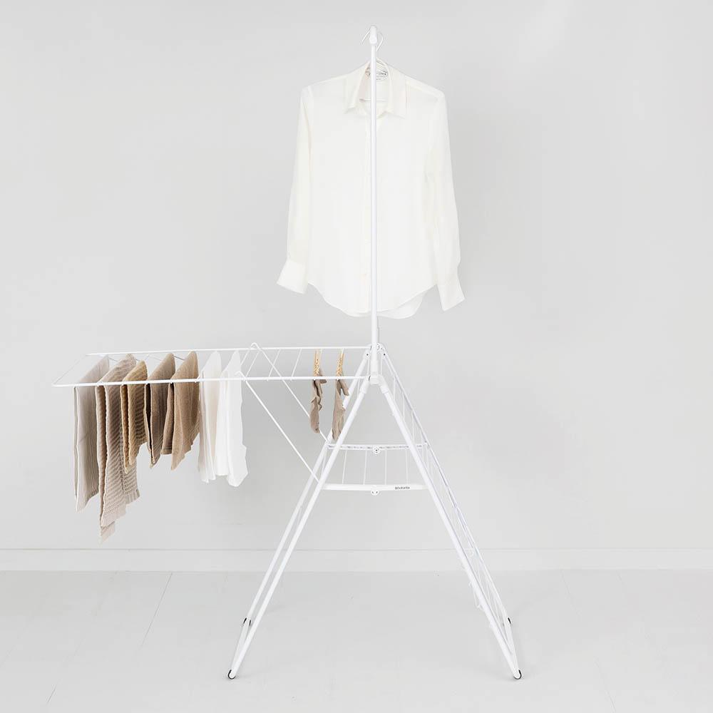 Сушилник за дрехи Brabantia Hangon, 25m, допълнителен прът, Fresh White(13)