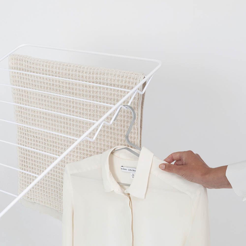 Сушилник за дрехи Brabantia Hangon, 25m, допълнителен прът, Fresh White(17)